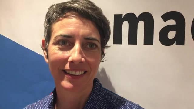 Kampagnenleiterin Jasmina Ritz erklärt, wie die Befürworter für die Limmattalbhan kämpfen wollen und sie sagt, wie hoch ihr Spendenziel ist