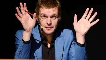 Florian Schröder begeisterte mit seinem gut zweistündigen Programm.