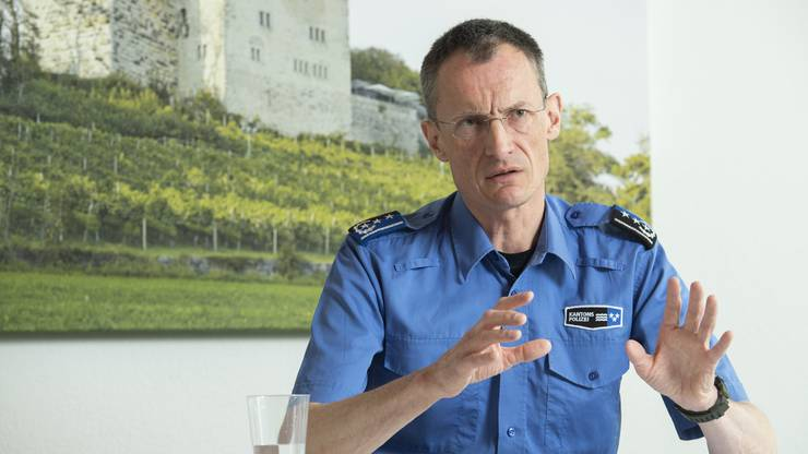 Polizeikommandant Michael Leupold