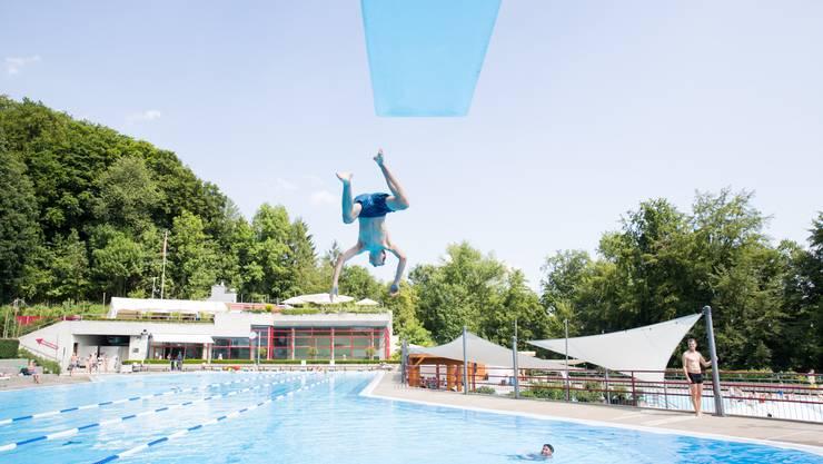 Bereit für die neue Saison ist auch das Gartenbad Obersiggenthal. (Archivbild)