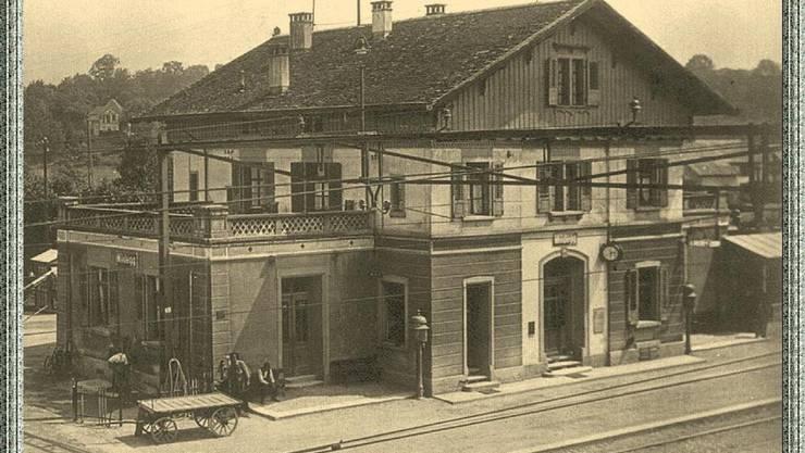 Bahnhof Wildegg