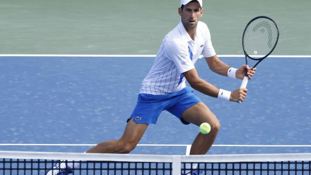 Novak Djokovic überzeugte auch gegen den Deutschen  Jan-Lennard Struff
