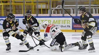 Eishockey, Swiss League: HC Ajoie - EHC Olten (23.1.21)