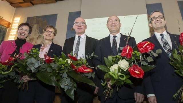 Der neue Regierungsrat des Kantons Baselland