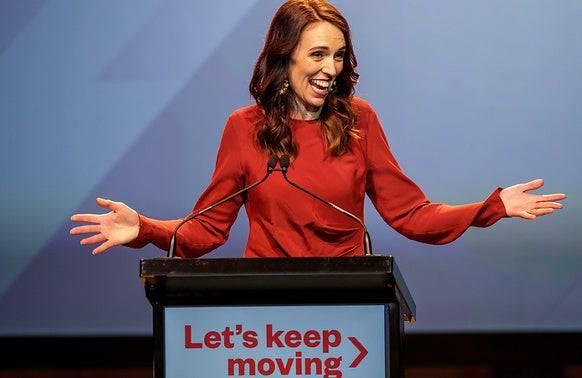 Jacinda Ardern kann wieder lachen: Das Coronavirus scheint in Neuseeland zum zweiten Mal besiegt zu sein. (Bild: Keystone)