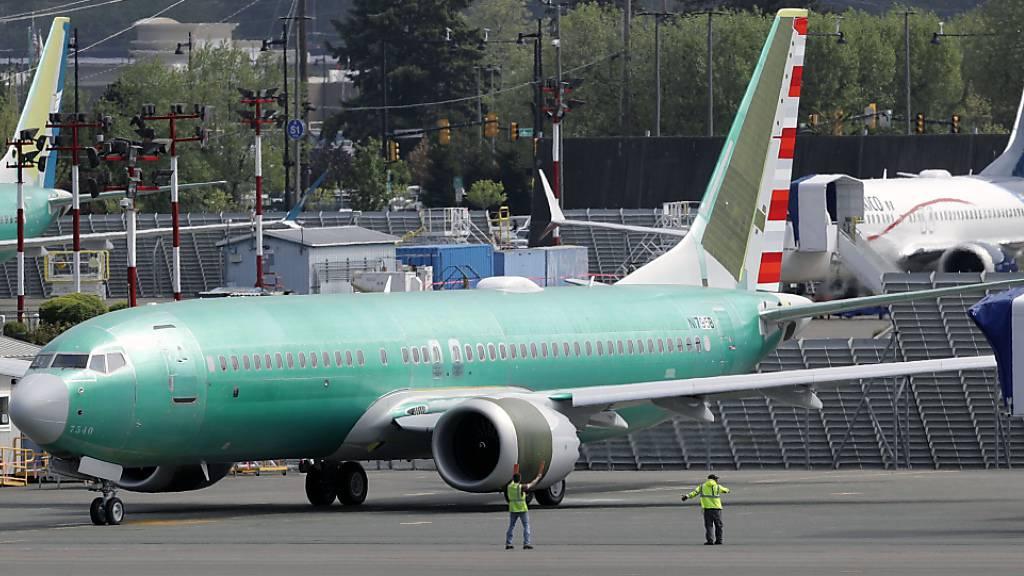 Unglücksmaschine 737 Max verhagelt Boeing das Ergebnis