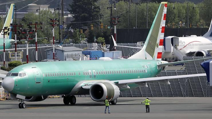 737 Max von Boeing: Die Unglücksmaschine muss immer noch am Boden bleiben. (Symbolbild)