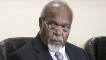 Ex-Regierungschef Sir Michael Somare