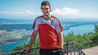 Nico Hischier von den New Jersey Devils weilt zur Zeit in der Schweiz.