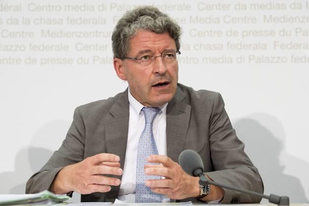 Heinz Brand (SVP GR), Präsident der Staatspolitischen Kommission des Nationalrats.