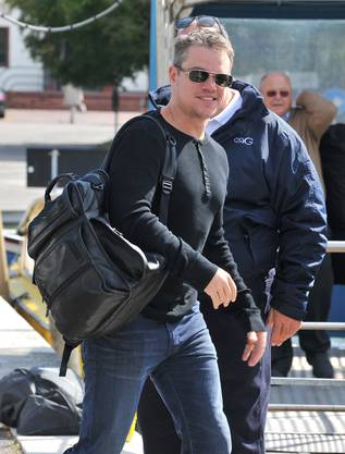 Matt Damon am Lido in Venedig