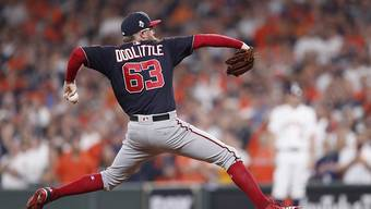 Eine Stilstudie: Washington Nationals Pitcher Sean Doolittle.