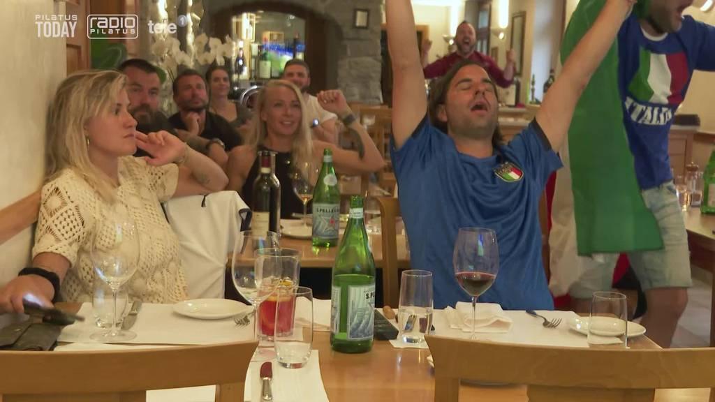 So wurde das Schweizer Debakel beim Italiener gefeiert