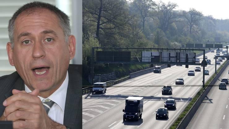 Der Basler Verkehrsdirektor Hans-Peter Wessels setzt sich für die 100-Franken-Vignette ein – obwohl Basel davon nicht direkt profitiert.