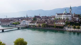 Blick auf die Stadt Solothurn.