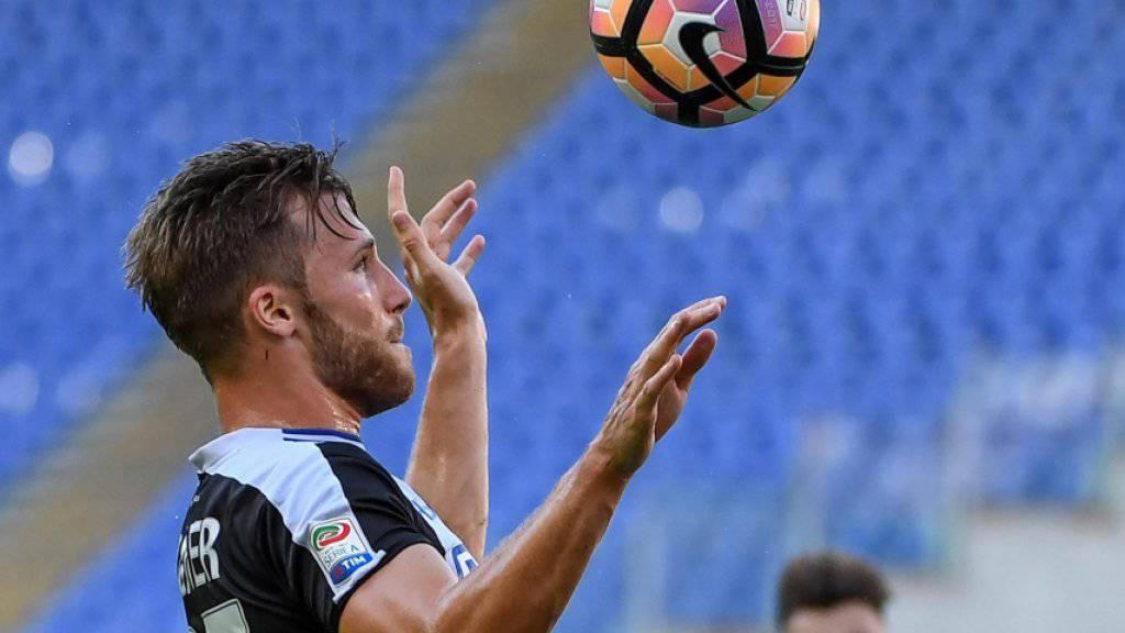 Silvan Widmer steht Udinese ein paar Wochen nicht zur Verfügung