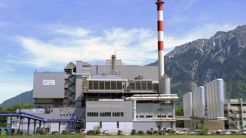 Das KVA Buchs übernimmt jährlich mehrere Tonnen Abfall aus dem Vorarlberg.