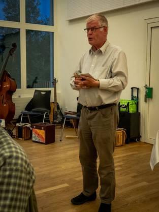 Werner Holliger Natur- und Umweltexperte
