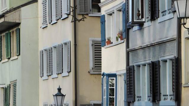 Die Mietzinsen in der Schweiz bleiben unverändert (Archiv)