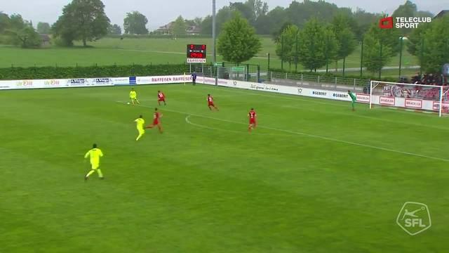 Challenge League, 2017/18, 33. Runde, FC Rapperswil-Jona - FC Aarau, 0:1 Gianluca Frontino