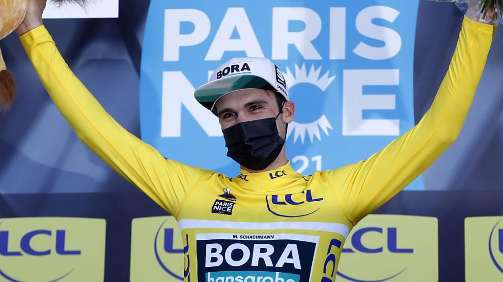 Maximilian Schachmann aus Deutschland gewinnt das Etappenrennen Paris-Nizza