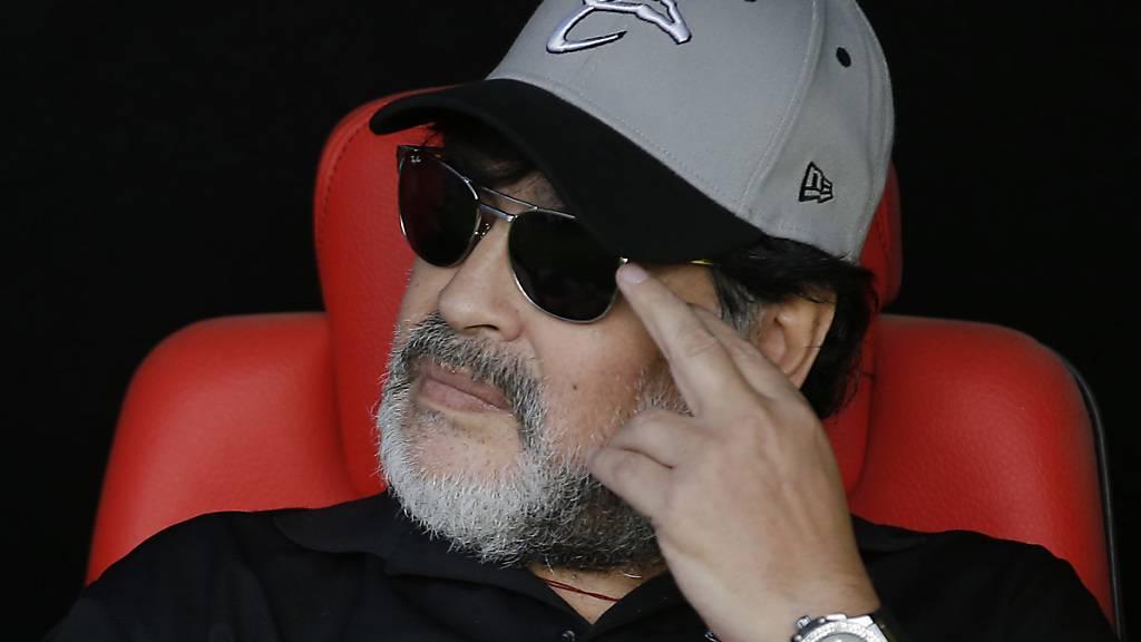 Maradona wird Trainer beim argentinischen Gimnasia