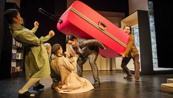 """Das Stück """"Der Chinese"""" des Theater Orchester Biel Solothurn (TOBS) ist zum diesjährigen Heidelberger Stückemarkt eingeladen. Es ist für den NachSpielPreis nominiert. (Archiv)"""