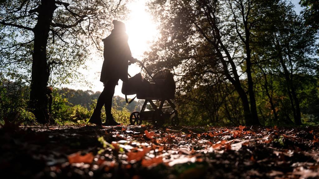 Goldenes letztes Oktober-Wochenende vor Wetterumschwung