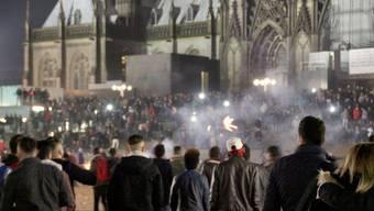 Ausser Rand und Band: Silvester in Köln.