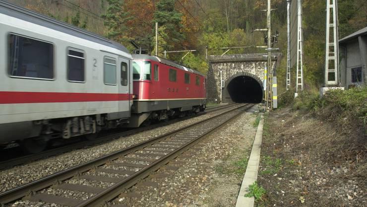 Der Wisenbergtunnel soll den Hauenstein-Basistunnel entlasten