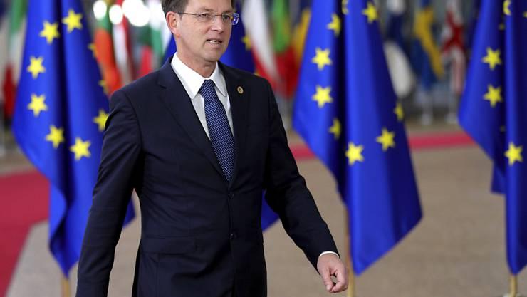 Will zurücktreten: Sloweniens Premierminister Miro Cerar. (Archivbild)