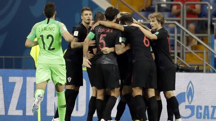 Die Kroaten gewinnen auch das dritte Gruppenspiel.