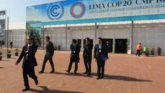 Tagungsort der UNO-Klimakonferenz in Lima