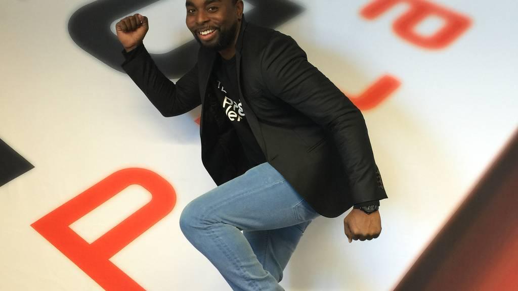 Er hört nicht auf zu rennen: Ollie Gabriel unterwegs mit Running Man