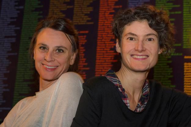 Judith Rohrbach (links) und Sonja Eisl leiten zusammen das Kleintheater.