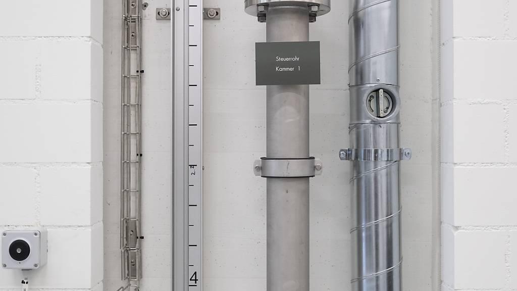 Das Wasserreservoir Laube in Arth SZ ist in die Jahre gekommen. (Symbolbild)