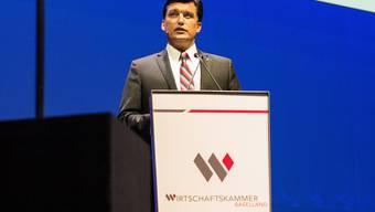 Christoph Buser, Direktor der Wirtschaftskammer Baselland