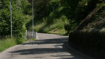 Die Dorfstrasse in Gebenstorf. az archiv