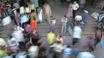 Grosse, aber risikoreiche Chance das schnelle Bevölkerungswachstum Indiens.