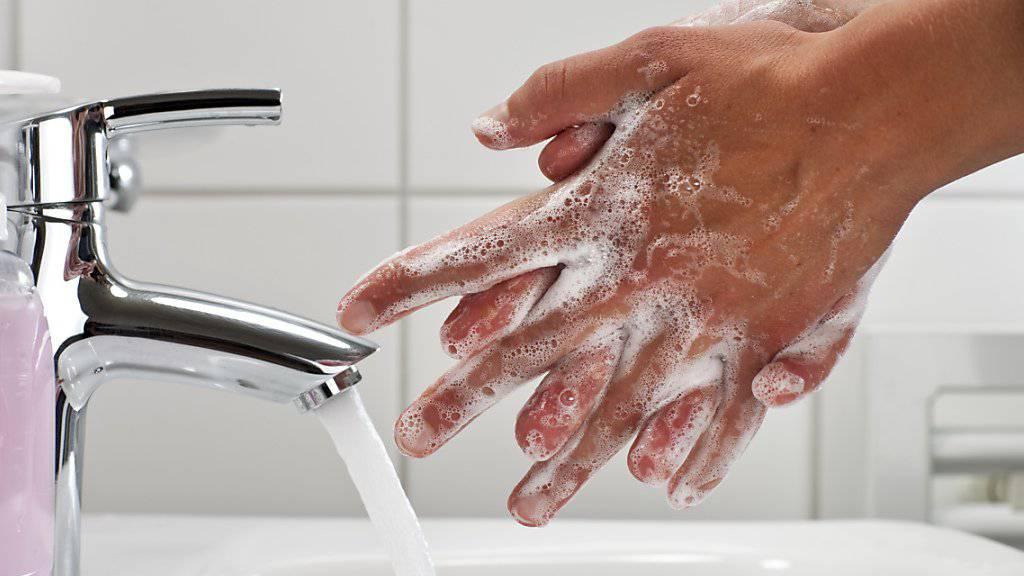 Die US-Arzneimittelbehörde fand keine Hinweise, dass spezielle Seifen Bakterien besser töten als herkömmliche. (Symbolbild)