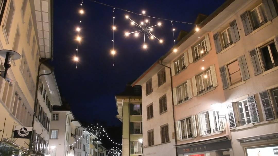 Brugger können über neue Weihnachtsbeleuchtung abstimmen