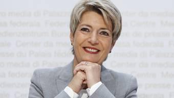 Gute Nachrichten von Bundesrätin Karin Keller-Sutter.