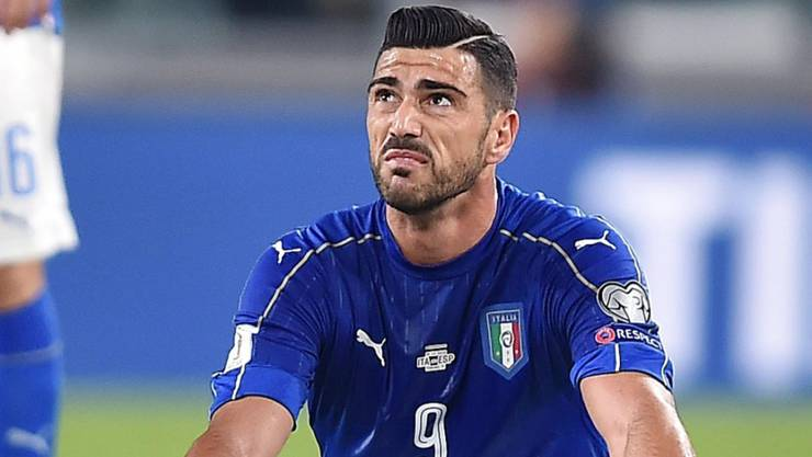 Stürmer Graziano Pellè verhielt sich bei der Auswechslung respektlos gegenüber Nationaltrainer Gampiero Ventura