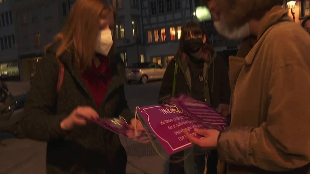Stadtparlamentarierinnen wollen weiblichere Strassennamen