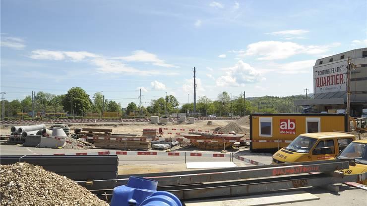 Auf dem Dreispitz-Areal befindet sich ein möglicher neuer Standort für das Kunsthaus Baselland – vielleicht hier auf dem Areal an der Oslostrasse?