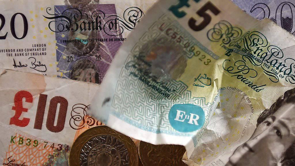 Was passiert mit dem britischen Pfund nach der «Brexit»-Abstimmung? Hedgefonds wollen offenbar mit dem Referendum Geld machen. (Symbolbild)