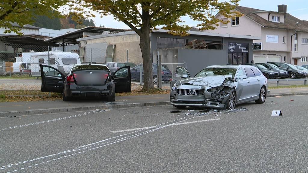 Verkehrsunfall mit drei Verletzten