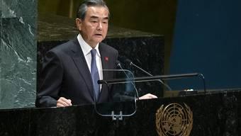 Der chinesische Aussenminister Wang Yi bezeichnete Protektionismus vor der Uno-Vollversammlung als Gefahr für die Weltordnung.