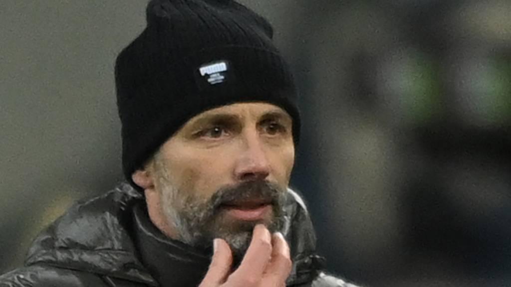 Marco Rose bleibt bis Saisonende Mönchengladbachs Trainer