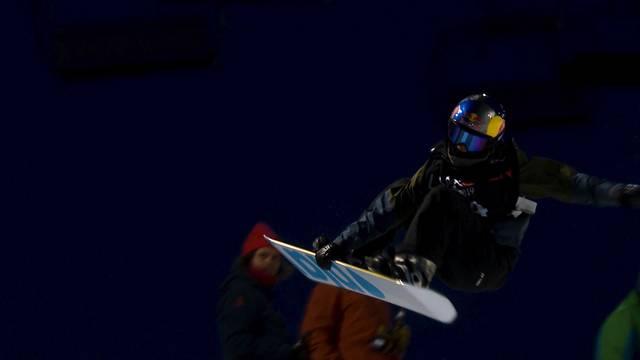 Chloe Kim (USA) und Scotty James (AUS) gewinnen erstes Nachtfinale der Laax Open, bester Schweizer Iouri Podladtchikov auf Rang sechs